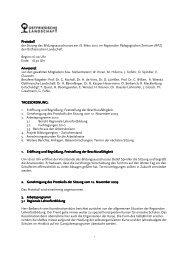 Protokoll Protokoll - Ostfriesische Landschaft