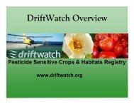 2012 TPSA driftwatch Dave Scott.pptx - The Pesticide Stewardship ...