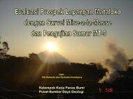Evaluasi Prospek Lapangan Mataloko Dengan Survie Mise-a-la ...