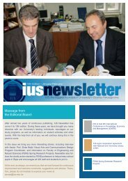 Message from the Editorial Board: - International University of ...