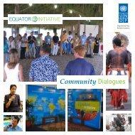 Community Dialogues - Equator Initiative