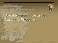 Canal Reclamation at the Barataria Preserve - Restore America's ...