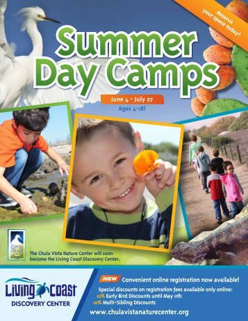 Download Summer Camps Brochure - The Living Coast Discovery ...