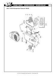 Artnr 110316 Kompressor Powerair 100/2S