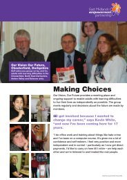 Making Choices - One East Midlands