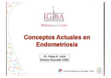 Dr. Felipe A. Jofré Director Asociado IGBA