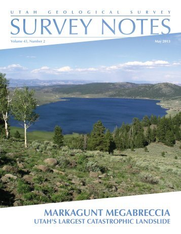 MARKAGUNT MEGABRECCIA - Utah Geological Survey - Utah.gov
