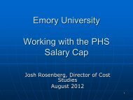 Salary Cap Presentation