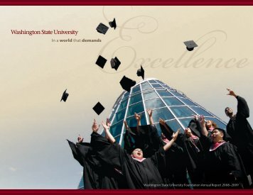 Excellence - WSU Foundation - Washington State University