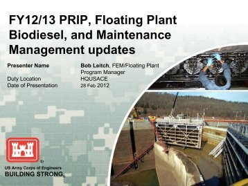 Reducing Green House Gas Emissions - U.S. Army