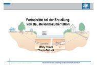 Fortschritte bei der Erstellung von Baustellendokumentation - Egeplast