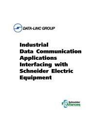 Interfacing with Schneider - Data-Linc Group