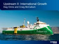 Upstream II: International Growth 2011 - Download PDF ... - Centrica