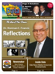Page 4 Inside Data Newsmaker