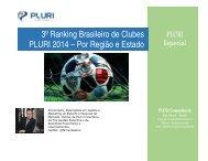 pluri Especial - Ranking brasileiro de clubes 2014 por regiao