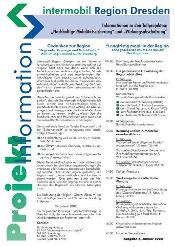 Ausgabe 4 - Institut für Verkehrsplanung und Logistik der TU ...