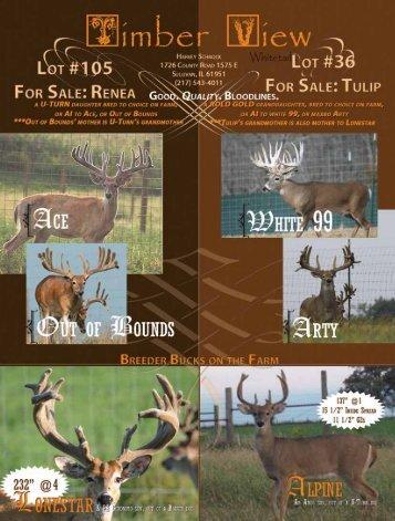 1 Year - Whitetail Deer Farmer