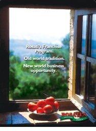 Brochure - PDF - Rosati's Pizza
