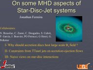 MHD aspects for star-disk-jet systems