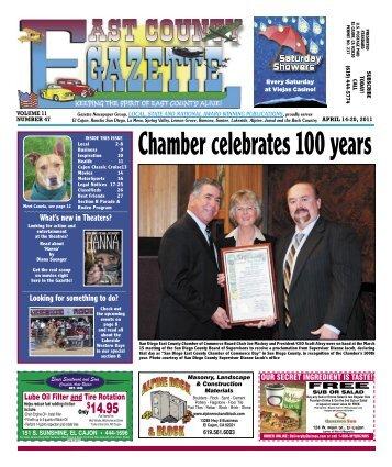 April 14 - East County Gazette