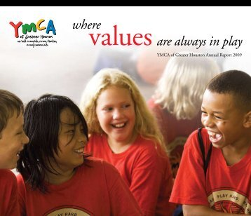 2009 Annual Report - YMCA of Greater Houston