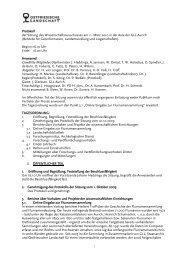 Protokoll der Sitzung des Wissenschaftsausschusses am 11. März ...