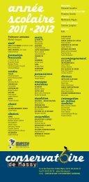 FICHE TARIFS 2011 - 2012_fiche 03-04 - Massy