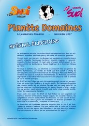 Planète Domaines