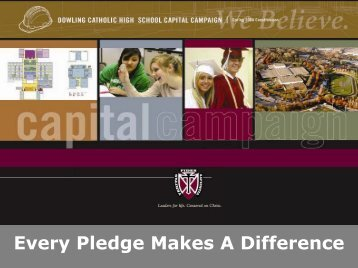 Every Pledge Makes A Difference - Dowling Catholic High School