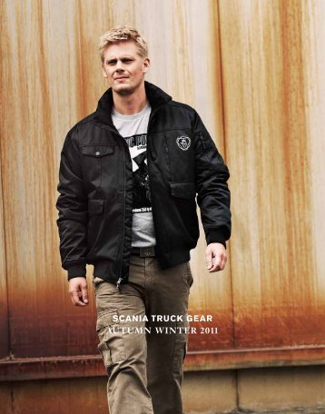 SCANIA TRUCK GEAR AUTUMN WINTER 2011