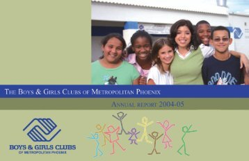 11460 layout redo.indd - Boys & Girls Clubs of Metropolitan Phoenix