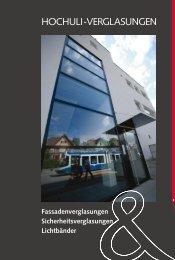 HOCHULI-VERGLASUNGEN - Hochuli Metallbau & Glas AG
