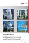 HOCHULI-VERGLASUNGEN - Hochuli Metallbau & Glas AG - Seite 3