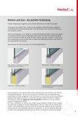 HOCHULI-VERGLASUNGEN - Hochuli Metallbau & Glas AG - Seite 5