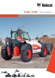 TL360 - TL470 | Télescopiques - Bobcat.eu