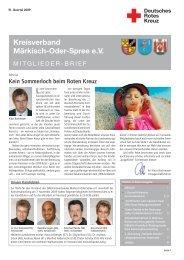 Spatzen - DRK Kreisverband Märkisch Oder Spree eV