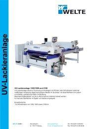Lackieranlage blauer Balken-Layout 1 - Welte GmbH