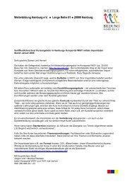Weiterbildung Hamburg e.V. Lange Reihe 81 ... - Kursportal WISY