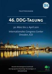 46. DDG-Tagung - Derma.de