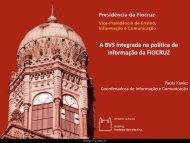 Apresentação em formato pdf - Programa CRICS9