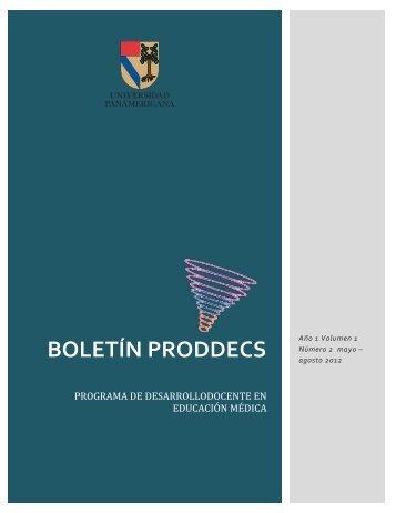 BOLETÍN PRODDECS - Universidad Panamericana