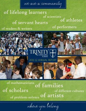 11-12 Annual Report - Trinity Episcopal School