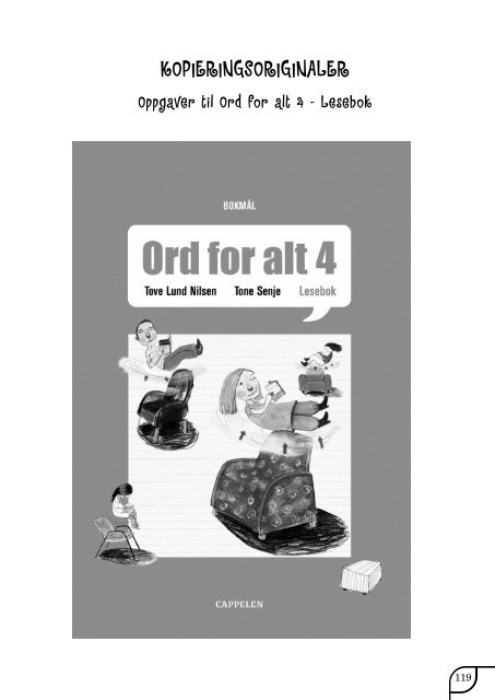 Ord for alt 4 - Cappelen Damm