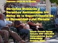 Derechos Humanos y Derechos Ambientales: los Retos de la Retos ...