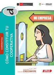 CÓMO CONSTITUIR TU COOPERATIVA d - CRECEmype