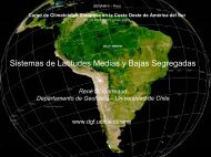 B - Departamento de Geofísica - Universidad de Chile