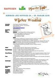 Wilder Westen - fahrcheibe.ch
