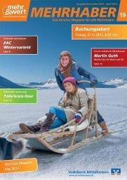 Mehrhaber-Magazin 2013/14 - Privatkunden