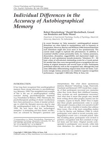Individual Differences In the Accuracy Of Autobiographical Memory.pdf