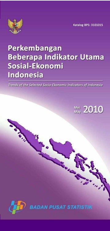 Edisi Mei 2010 - Badan Pusat Statistik